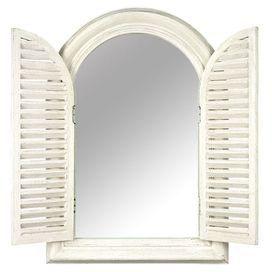Cecily Mirror in Cream