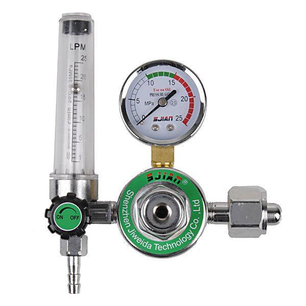 AR Reducer Pressure Gas Flowmeter for Tig Welding Machines