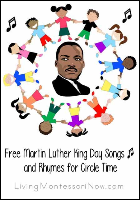 Martin Luther King Day information resources along with YouTube songs and rhymes (and more song resources) for Martin Luther King Day