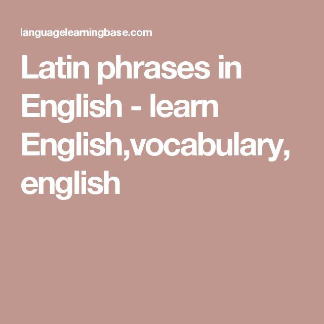Best 25 Latin Quotes Ideas On Pinterest: 1000+ Ideas About Latin Phrases On Pinterest