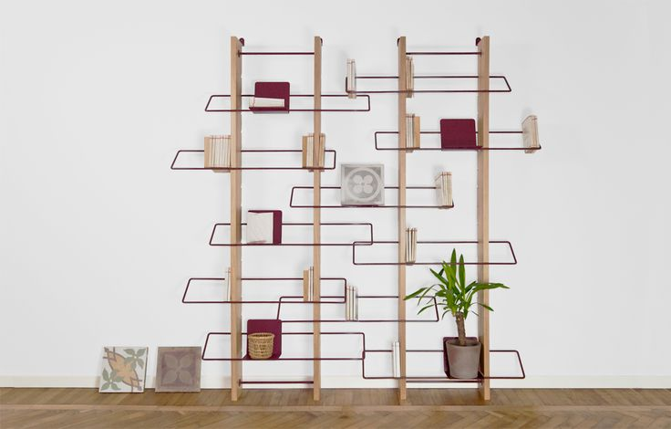 Grapevine_wall bookshelf