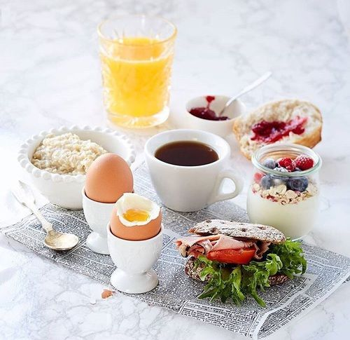 berries, berry, and breakfast image