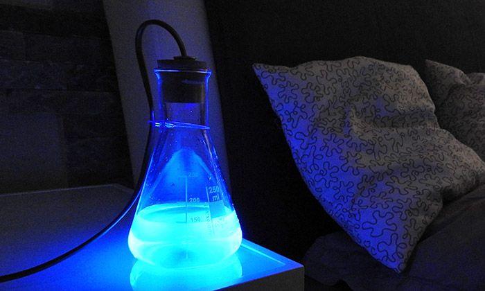 Česká svítidla od ChemLight svítí pomocí kapaliny