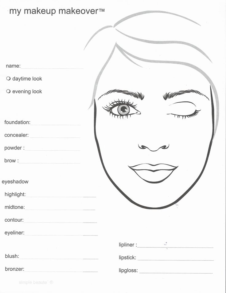 Mary Kay Makeup Face Sheets Mary Kay Pinterest Image