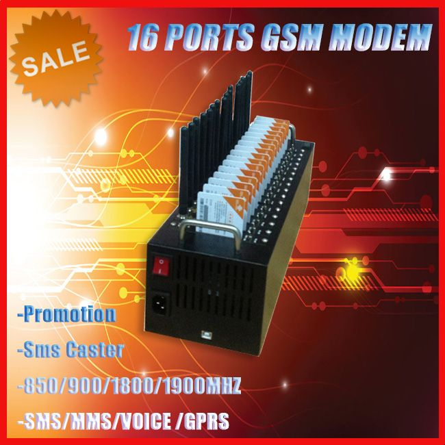 best seller 16 port sms gateway/send and receive sms online