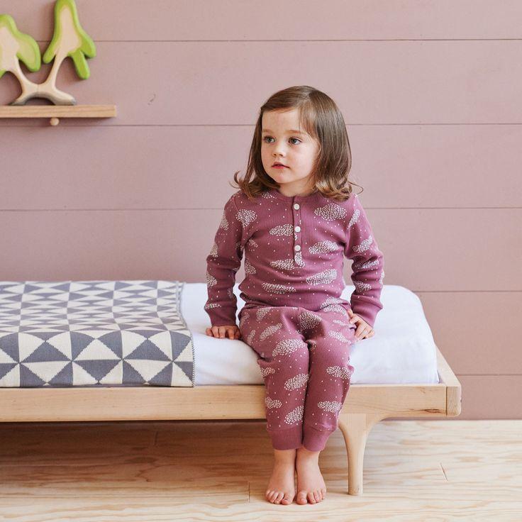 Cotton Rib Long Sleeve PJ Set