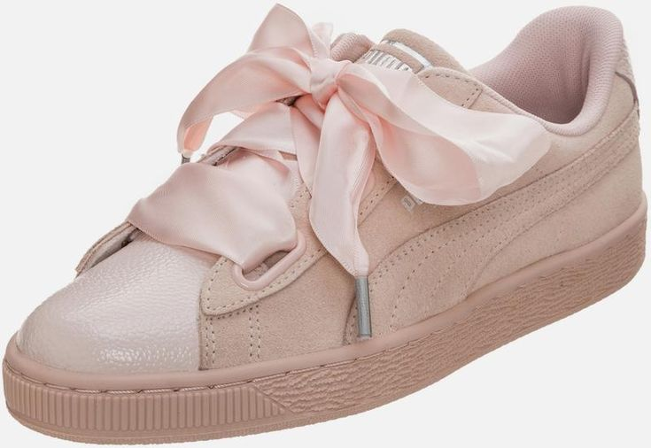 PUMA Sneaker 'Suede Heart Bubble' in pink | ABOUT YOU