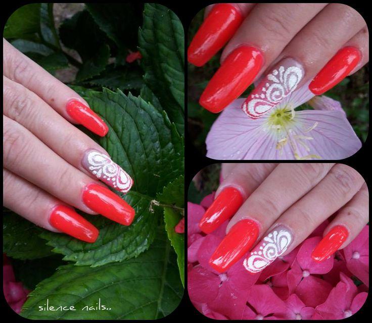 Hermosa Malvados Color De Las Uñas Bosquejo - Ideas de Pintar de ...