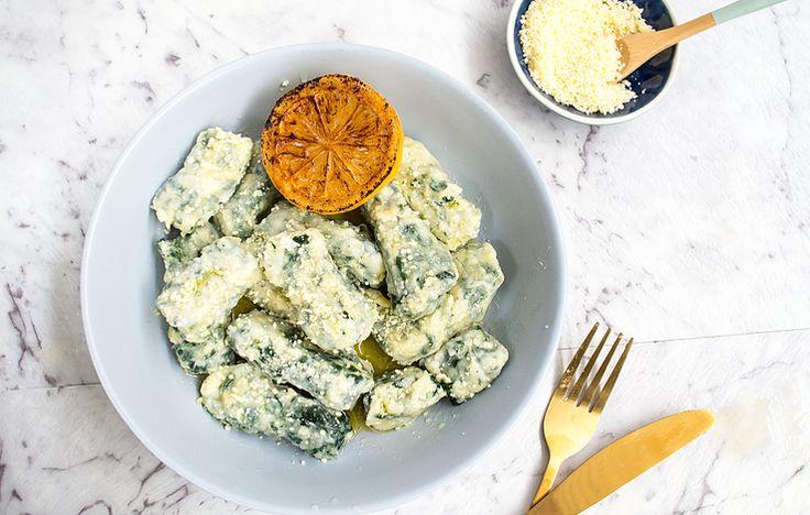 Spinach & Ricotta Gnocchi | Lighthouse Spring Baking