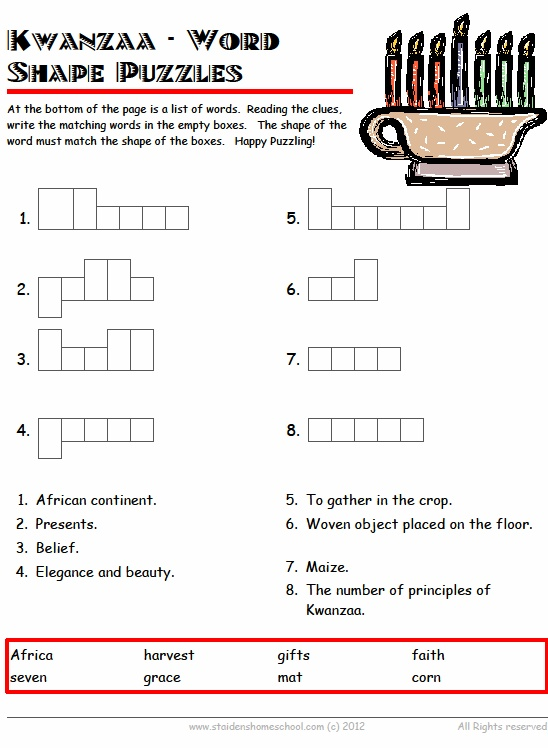 62 best Kwanzaa printables, books and worksheets images on ...