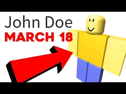 DON'T PLAY ROBLOX ON MARCH 18TH?? - YouTube