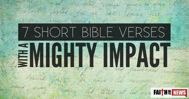 Best 25+ Short bible verses ideas on Pinterest   Short ...