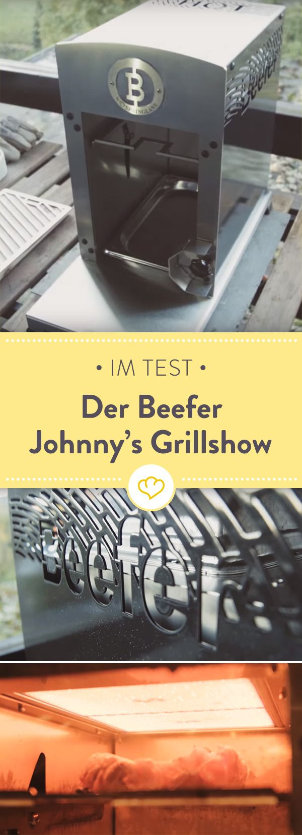 Johnny kennt sich aus mit gutem Grillfleisch. In seiner Grillshow hat er jetzt den Beefer getestet...