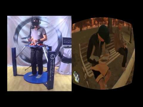 ▶ GTA 4 in VR - Cyberith Virtualizer + Oculus Rift + Wii Mote = Mindblowing Experience - YouTube