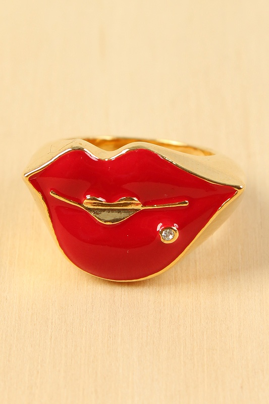 Pucker Up Ring | PUCKER UP | Pinterest | Ring, Lips and Kiss