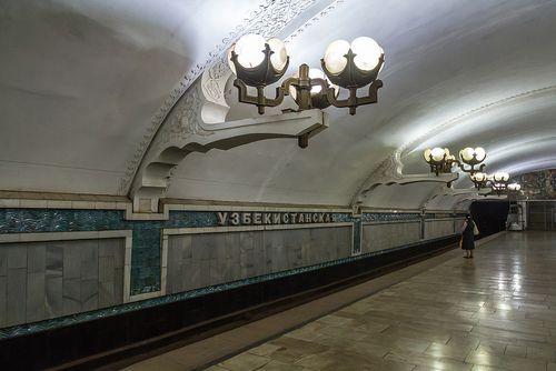 the metrostations of Tashkent