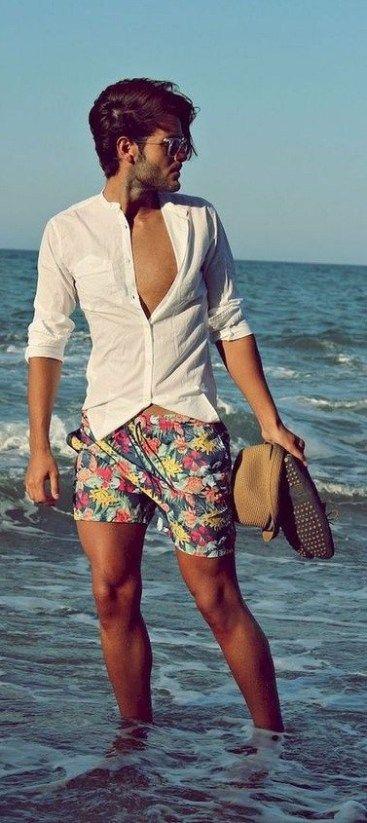 Inspiração de estilo de praia para homens nessas férias   – For Him
