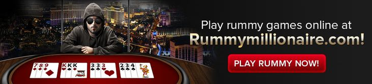 Play rummy games 24x7 for free and for cash prizes at Rummymillionaire.com!