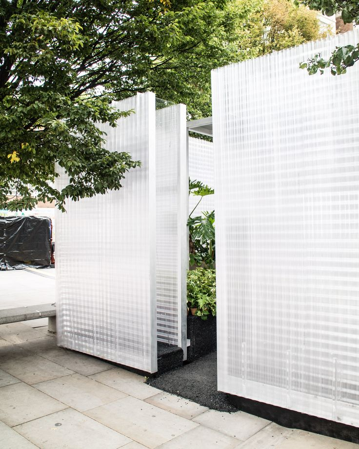 """C O N N E C T S P A C E // By Asif Khan """"Forests"""" Installation MINI Living.  #YourSideOfTown #MINILiving #LDF16 #thirdplaceliving  #LondonDesignFestival #placemakers #creativeuseofspace #AsifKhan #thirdplaces #urbanliving #urbanvoids #design #architecture #London #urbanenvironments #cityliving #urbanarchitecture #urbandesign #MINIdesign #ad"""