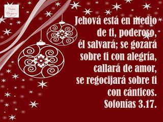 Con Visión de Hogar: Anunciando la Navidad, Sofonías 3.17.