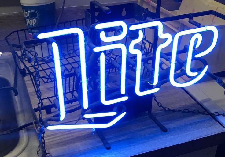 Vintage Miller Lite Neon Beer Sign    | eBay
