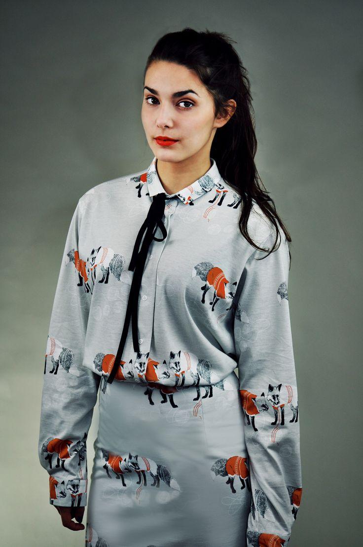 fox shirt