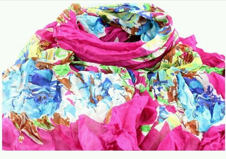 ladies woman's Floral Crinkled Scarf sarong maxi hijab shawl casual party wear