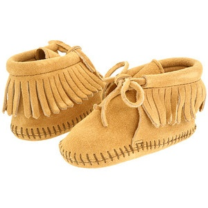 Briar's first shoes.: Shoes, Baby Kids, Minnetonka Kids, Kids Bootie, Fringes, Baby Boy, Baby Stuff, Kids Fringe