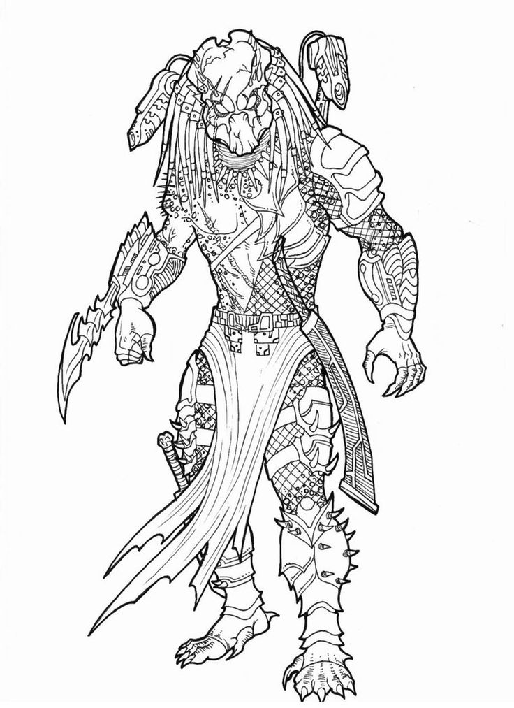 482 best avp images on pinterest aliens, artists and book alien vs predator coloring pages Xenomorph Alien Queen Birth Xenomorph King Coloring Pages