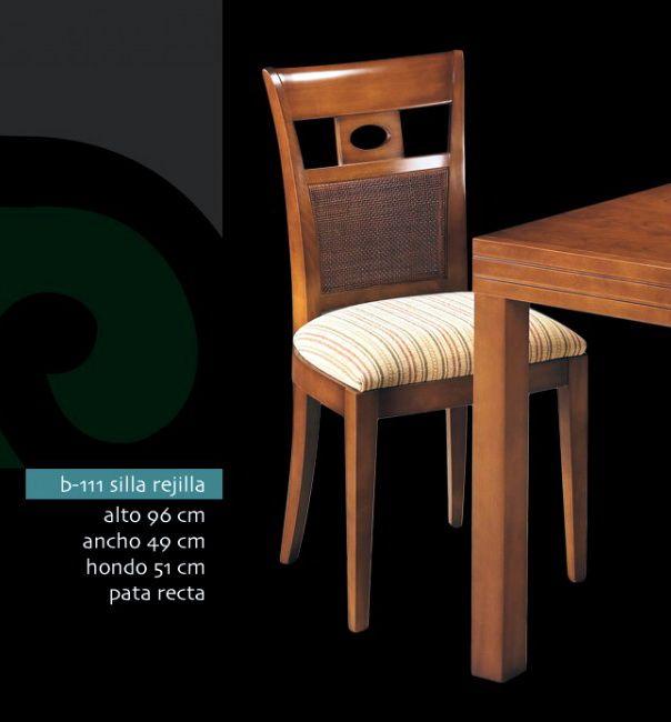 sillas de exposicion madera