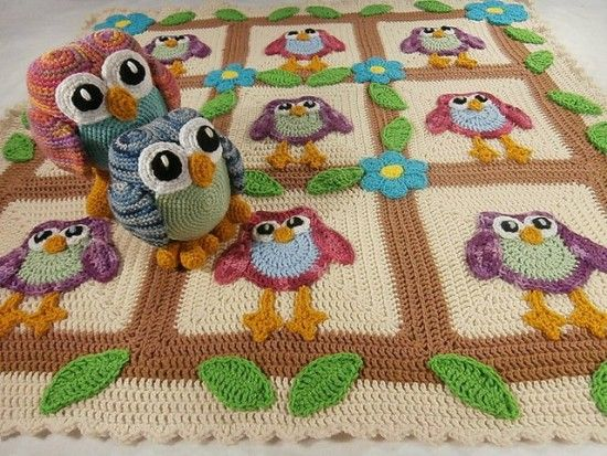 Crochet Owl Projects