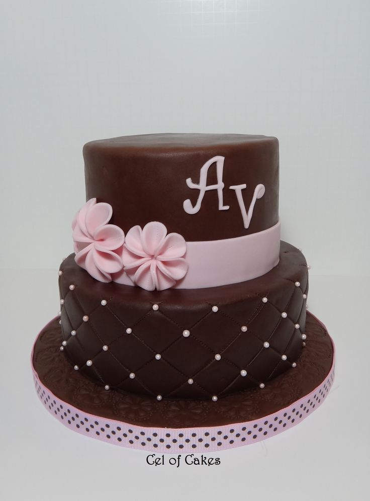 ... cakes on Pinterest  Chocolate roses, Chocolate cakes and Cakes