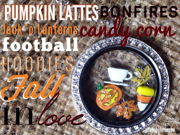 Fall 2014!! Design your locket today for the #fallseason #pumpkins #fallingleaves #football #Halloween #bonfires #seasons #giftsfortheseason