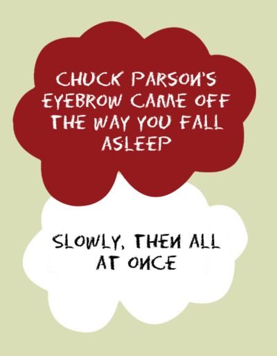 Paper towns. Whoever made these is my hero.