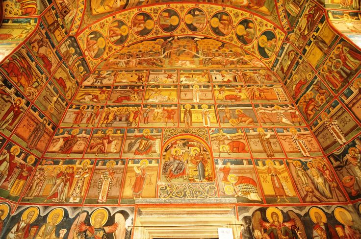 Moldovita Monastery details by Daniel Calin