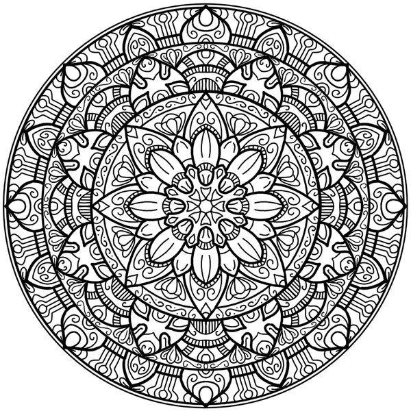 Krita Circles Mandala 2 by WelshPixie (print image)