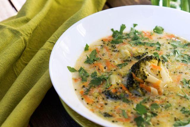 gotować! - Zupa brokułowa na bazie beszamelu
