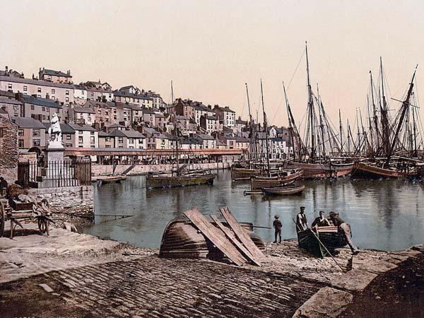 From the Harbor, Brixham, England