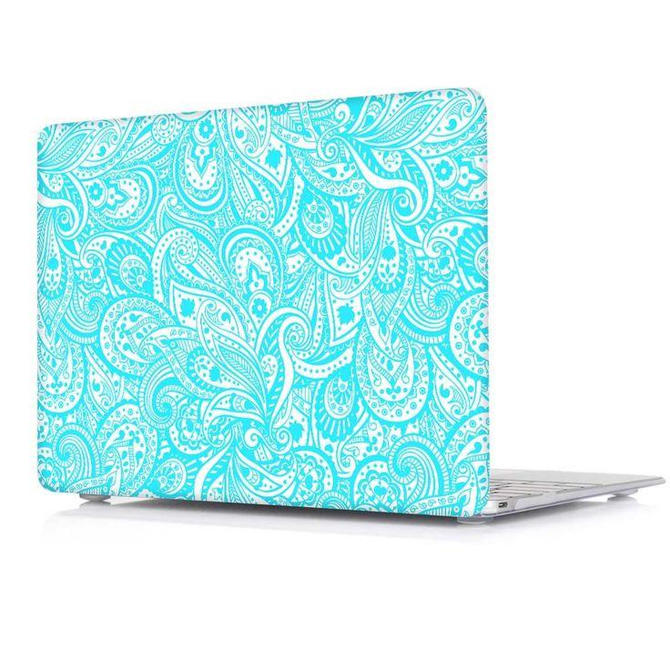 Paisley Pattern (Aquamarine) MacBook Air & MacBook Pro Hard Case