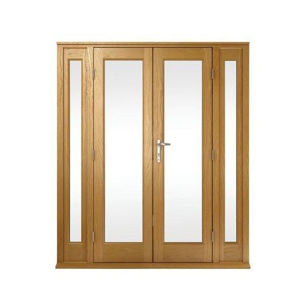 ... Panel Internal Oak French Doors, Cheap French Doors, 2012 x 1218mm ❤ liked on Polyvore featuring home, home decor, doors and french home decor