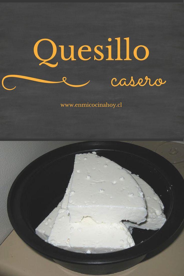 EL quesillo chileno o queso fresco es un queso que se hace con leche de vaca fresca y se consume de inmediato, antes de 1 semana. Suave y delicioso.