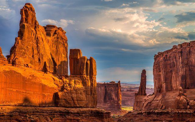 Γκραν Κάνυον, Αριζόνα, ΗΠΑ (ακραίες αλλαγές χαρίζουν στο διάσημο φαράγγι μοναδικά μικροκλίματα) – 48,9 βαθμοί Κελσίου