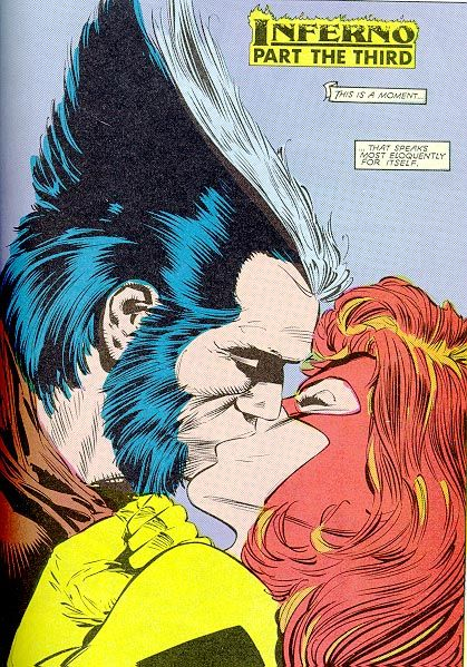 Woverine & Jean Grey . . .again