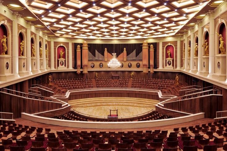 Aula Simfonia Jakarta Concert Hall (Kemayoran, Jakarta, Indonesia)  Designed by Rev. Dr. Stephen Tong