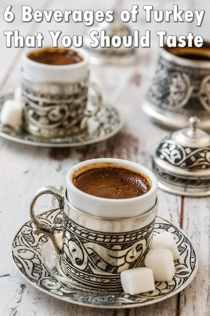 what is turkish coffee made of