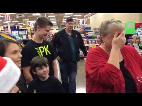 It's that time of year for many, when we are giving and receiving to those we love. Two videos here for you to witness the joy and the when we see the best of ourselves giving to total strangers. C...