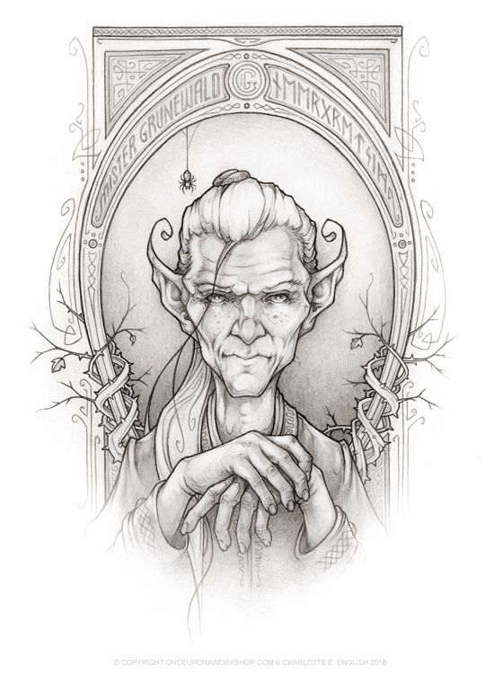 """Meet Grunewald - the Goblin king himself from the upcoming book """"Bessie Bell and the Goblin King"""" by @chaelenglish"""