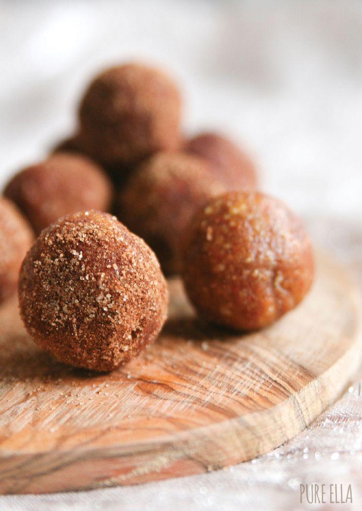 cinnamon & spice almond truffles (no bake/ refined sugar-free/gluten-free/vegan/paleo) Something to try