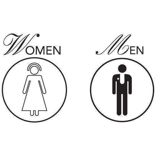 Bathroom Signs Templates 17 best bathroom signage images on pinterest | signage, bathroom