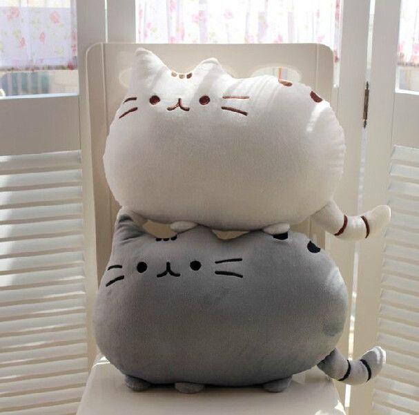 Cartoon cute cookies cat cushion pillow